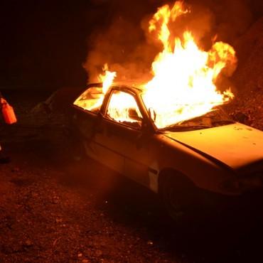 Ein Autobrand