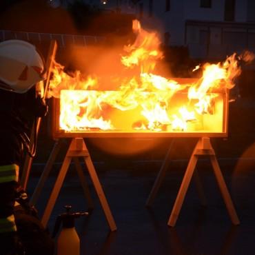 Monatsübung Branddienst