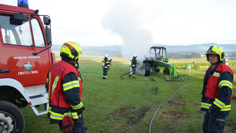 Feuerwehrmann entdeckte Brand
