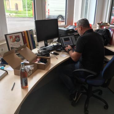 Feuerwehr Zwettl funkt ab heute digital